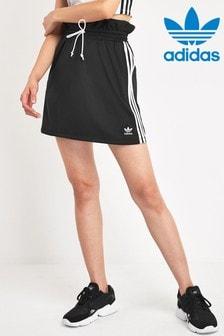 adidas Originals Black Paperbag Waist Skirt