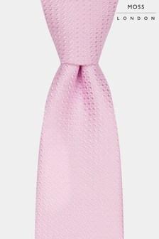 رابطة عنق وردي مزركشة من Moss London