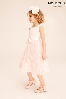 Robe grande occasion Monsoon Macaroon rose 3D