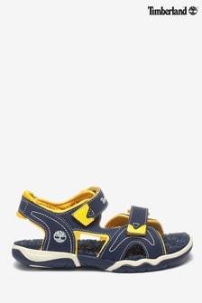 Timberland® Adventure Seeker marineblauwe/gele sandalen met 2 bandjes