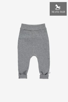 The Little Tailor Grey Baby Knitted Pant