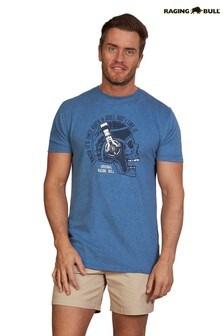 Raging Bull Denim Blue Ruck & Roll T-Shirt