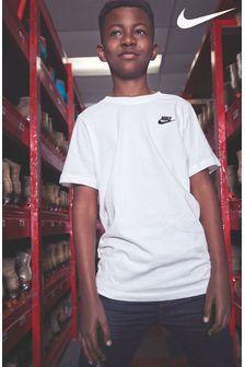 Koszulka z małym logo Nike Futura
