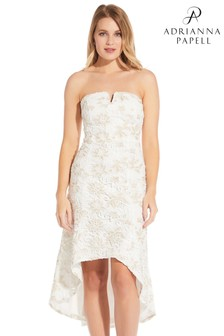 Adrianna Papell Guipure Lace Dress