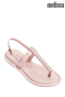 Melissa Blush Toe Post Sandal