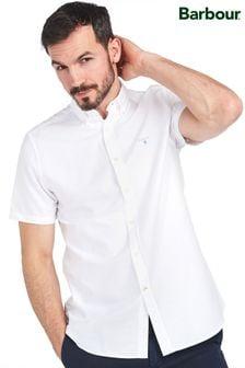 חולצה עם שרוולים קצרים וכפתורים של Barbour®