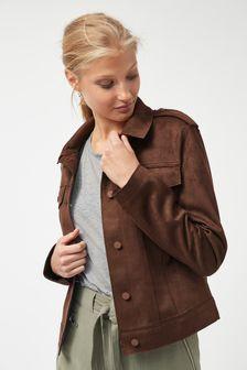 Suedette Western Jacket