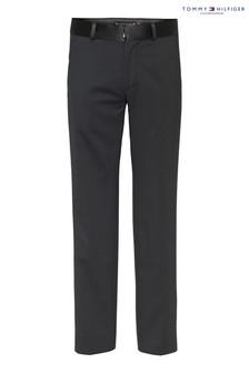 Pantalon ajusté Tommy Hilfiger noir