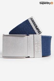 Superdry Reverse Canvas Belt