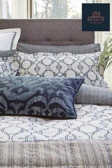 Bedeck Of Belfast Blue Kateri Oxford Pillowcase