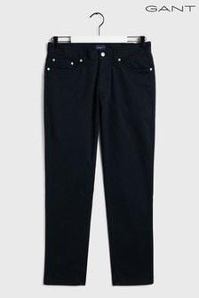 GANT blauwe Tech Prep Bedford jeans met smalle pasvorm