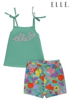 ELLE Vest And Shorts Set