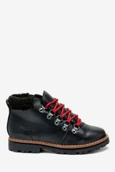 Походные ботинки с искусственным мехом (Подростки)