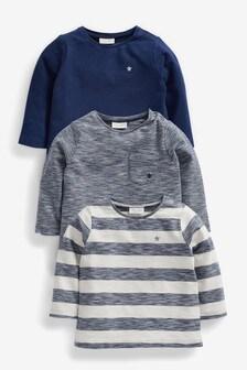 3 Pack T-Shirts (0mths-2yrs)