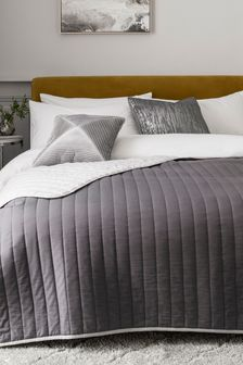 Reversible Cotton Rich Bedspread