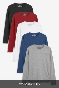 Набор футболок с длинным рукавом (5 шт.)