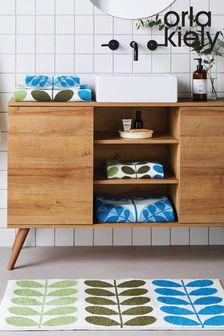 שטיח אמבטיה של Orla Kiely דגם Trio Stem