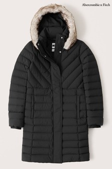 Abercrombie & Fitch ロングパッド入りジャケット