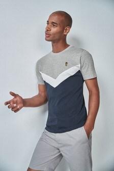 Majica s ševronskim vzorcem