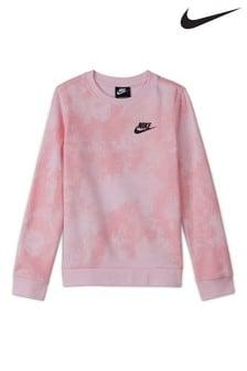 Nike sportruházat Tie Dye Sweat Top