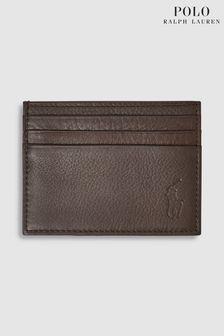 Porte-cartes en cuir Polo Ralph Lauren