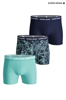 Bjorn Borg Blue Sammy Fiji Flower Shorts
