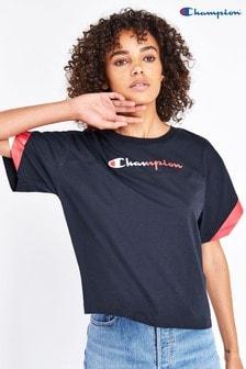 Champion T-shirt met klein logo