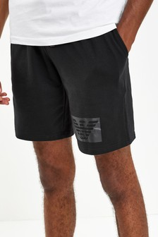 Emporio Armani Loungewear Black/Grey Shorts