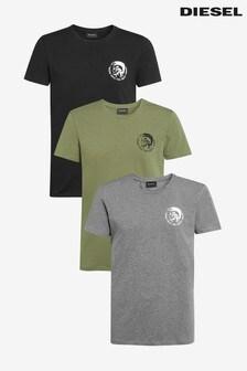 Diesel® Mohawk T-Shirts Three Pack