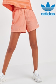 מכנסיים עם לוגו של adidas Originals דגם Large בצבעאלמוג