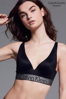 Calvin Klein Black Plunge PushUp Bralette