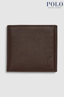 Porte-monnaie en cuir Polo Ralph Lauren