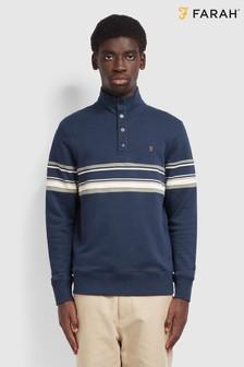Farah ブルー Hales スウェットシャツ