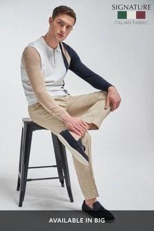 Signature Linen Suit: Trousers