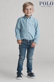 Ralph Lauren Blue Skinny Denim Jeans