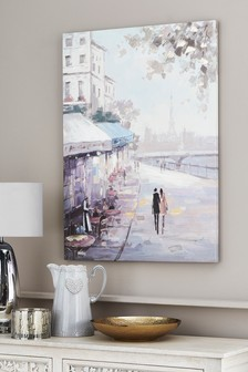 Paris Scene Canvas