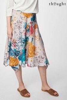 חצאיתGiardino בצבע לבן שלThought