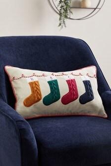 Christmas Noel Stocking Cushion