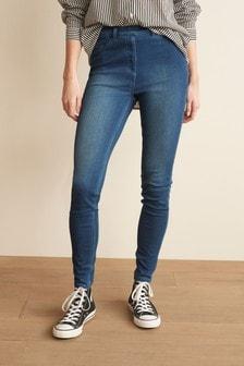 Jersey Denim Leggings (626382) | $27
