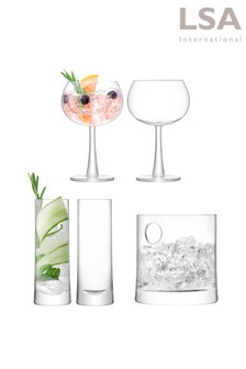 LSA International琴酒冰涼酒杯組