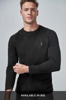 Jemné tričko s dlhými rukávmi
