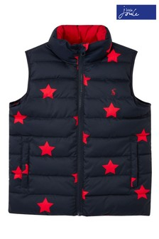 Joules - Flip It - Gilet blu double-face