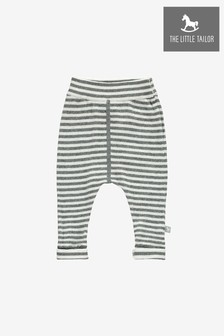 The Little Tailor Babystrickhose, grau
