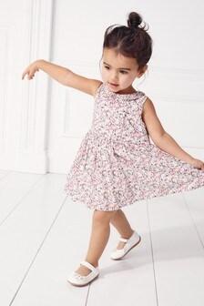 Праздничное платье в цветочек (3 мес.-7 лет)