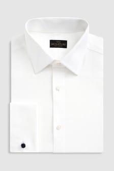 Overhemd van Next-signatuur met textuur