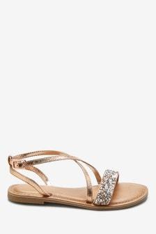 Cross Strap Sandals (Older)