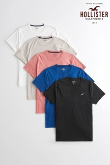 Hollister set van vijf T-shirts