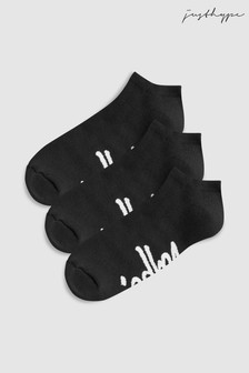 Hype. Trainer Socks Three Pack