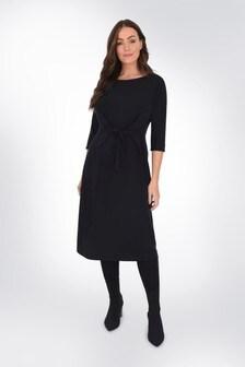 שמלת ג׳רזי עם סרט קשירה במותן למידות גדולות שלLive Unlimited
