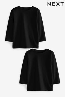 Набор из двух футболок с длинным рукавом (3 мес.-7 лет)